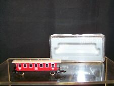 Marklin Mini Club, Z Scale Red Passenger Car; Brand New in Box