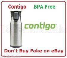 ❤ Contigo West Loop Thermos Large Drink Flask Travel Mug SS Autoseal® 591mL 20oz
