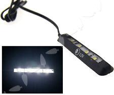 Motorcycle Micro LED Tiny Rear Number Plate Light Motorbike Lamp 12V 4LED