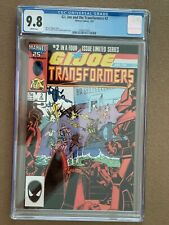 G.I. Joe and the Transformers 2 CGC 9.8 White Pages