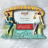 "Coca-Cola Vintage Style At the Beach Picture Frame 3.5"" x 5"""