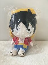 NEW Bandai Monkey D. Luffy Reversible Cushion Plush Japan Import Rare Anime