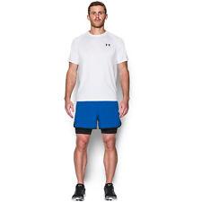Pantaloncini da uomo blu per palestra, fitness, corsa e yoga taglia XL