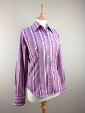 T.M.Lewin Cotton Classic Fit Striped Tops & Shirts for Women