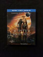 Jupiter Ascending Blu Ray+Dvd + Digital Copy, Lot F1.