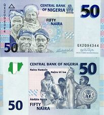 NIGERIA 50 Naira Banknote World Paper Money UNC Currency Pick p35b 2007 Bill