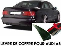SPOILER BECQUET SPOILER LEVRE LAME COFFRE pour AUDI A8 D2 1994-02 V6 V8 SLINE S8