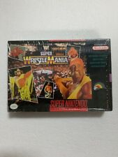 WWF Super Wrestlemania Super Nintendo SNES Game BRAND NEW Old Stock SEALED