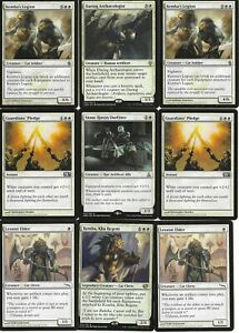 Kemba Equipment Cat Soldiers / Knights (White) : MTG Custom Casual 60 Card Deck