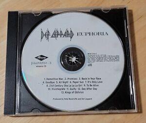 Def Leppard - Euphoria - RARE PROMO CD 1999 Mercury - Like New