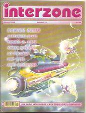 INTERZONE 175 Dominic Green, Alexander Glass, Thomas M. Disch, Jan Siegel