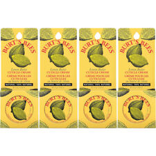 4 Pack - Burt's Bees Lemon Butter Cuticle Cream Tin .6Oz Each