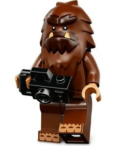 LEGO Minifigures Series 14 Monsters halloween Square Foot bigfoot + camera