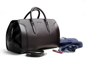 Bentley Leather Travel Bag Authentic Accessory Leather