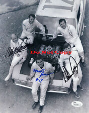 RICHARD PETTY+YARBOROUGH+DAVID PEARSON+ALLISON SIGNED 8x10 PHOTO REPRINT