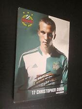 38675 Christopher Dibon Rapid Wien original signierte Autogrammkarte