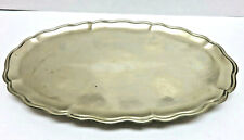 New ListingVintage Silverplate Oval Footed Perfume Tray