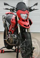 Fabbri Windscreen for Ducati Hypermotard 1100, Hypermotard 796, Black Satined