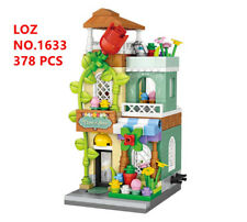 378 pcs LOZ MINI Blocks DIY Building Kids Toys Puzzle Store Flower Shop 1633