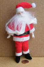 1:12 Scale Santa Father Christmas Dolls House Miniature Doll Accessory DP184