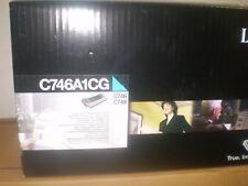 original Lexmark Toner cyan C746A3CG C746A1CG C748 C746 neu A-Ware