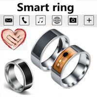 Waterproof NFC Smart Ring Multifunctional Intelligent Wear Finger Digital Rings