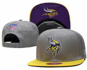 Minnesota Vikings #1.6 NFL CAP HAT New Era 59Fifty Snapback