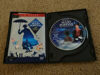Disney MARY POPPINS 40th Anniversary Edition (2004, 2-Disc DVD Set) w/ Slipcover