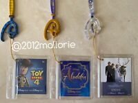 15 Pack Disney Store Key Tag Protectors
