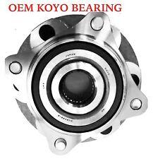 FRONT WHEEL HUB OEM KOYO BEARING ASSEMBLY FOR 2007-2014 TOYOTA FJ CRUISER 4WD