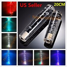 20CM Universal Crystal Bubble LED LIGHT Shift knob Universal shifter shift gear