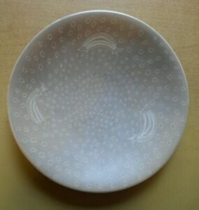 DECORATIVE DISH WITH STAND, 7 X 1-1/4