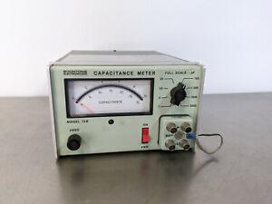 Boonton 72B 1MHz 1-3000 pF Full Scale Analog Capacitance Meter