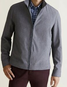 ZACHARY PRELL  3-in-1 Jacket Grey size Large Water Resistant removable vest