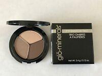 Glominerals Pressed Eye Shadow EyeShadow Trio Choose your Shade New in box