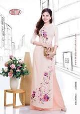 ao dai vietnamese traditonal long dress THAI TUAN with Pant  ALL SIZE