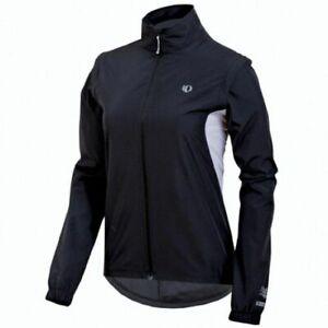 Pearl Izumi Select Womens Barrier Convertible Jacket XS Black Running Cycling