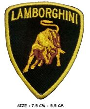 Lamborghini Automobile racing sports car Iron on Sew on Embroidered Patch