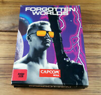 Forgotten Worlds Capcom 1989 Original Commodore AMIGA Spiel OVP Big Box Work CIB