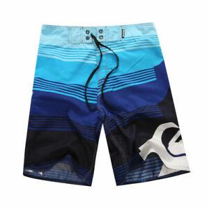Mens Summer Beach Board Shorts Surf Sport Swim Wear Trunks Pants Swimsuit 30-44