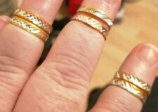 Costume jewellery rings joblot