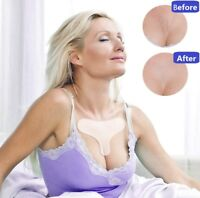 Reusable Silicone Neck Chest Face Pads Wrinkle Removal Magic Patch Anti Aging
