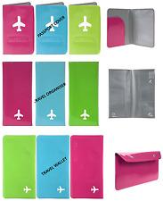Cartera Monedero Bolsa De Viaje Organizador De Documento Pasaporte Tickets ID Holder Carpeta