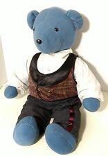 "Vintage NABCO Teddy Bear Rhett Beartler Vest Pants 20"" Tall"