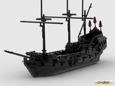 Lego Moc Black Pearl Piratenschiff NUR BAUANLEITUNG PDF KEINE STEINE