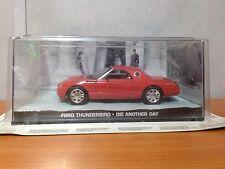 James Bond Die Cast Car - Ford Thunderbird - Die Another Day - BNIB
