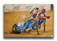 EMIL SAYFUTDINOV HAND SIGNED 12X8 PHOTO - SPEEDWAY AUTOGRAPH.