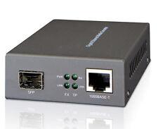 Fiber - Pure Gigabit Media Converter, SFP Slot Multimode Single Mode - 3605