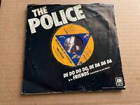 THE POLICE DE DO DO DO DE DA DA DA VINYL 45RPM SINGLE FRIENDS A&M