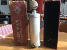 "NEUMANN CMV3 Microphone vintage ""bottle"" Hitler"